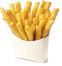 Vasos para papas fritas